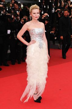 The absolute best of Cannes red carpet fashion: Kirsten Dunst in Chanel in 2011.