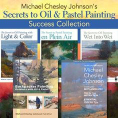 Michael Chesley Johnson's Secrets to Oil & Pastel Painting Success Collection ^ch #painting #oil #pastel #art