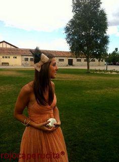tocado de boda