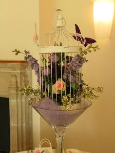 Birdcage at coombe lodge