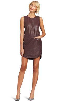Rebecca Taylor Leather Dress