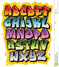 graffiti alfabet - Google zoeken
