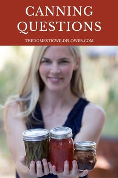 There's so many questions you may have when getting started canning. This post answers the most frequently answered questions with science-based answers, step by step instructions, and free resources to get you started canning with confidence. Read on to get all your canning questions answered!