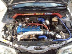 4eft engine Toyota Starlet, Toyota Tercel, Japanese Cars, Toyota Corolla, Jdm, Old School, Engineering, Wheels, Shopping