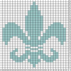 Tricksy Knitter Charts: New Fleur de Lis (68444) (70902)