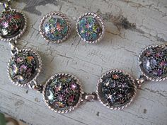 Vintage Sarah Coventry Bracelet and Earrings by mimiyaya on Etsy, $40.00