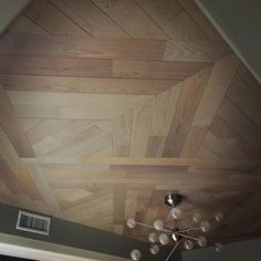 I don't know what's more amazing. This epic ceiling design, or the fact that it's literally peeled and stuck to the ceiling!? P.S. There's only hours left to save 20% + free shipping! Use code: GOBBLE and shop the link in our profile! #stikwood #moderndesign #modernism #design #interiordesign #wood #ceilingdesign #madeinusa #peelandstick #greendesign #lightfixture #lighting #Regrammed via @stikwooddesign Ceiling Detail, Ceiling Design, H Hotel, Modernism, Light Fixtures, Hardwood Floors, Modern Design, Profile, Free Shipping