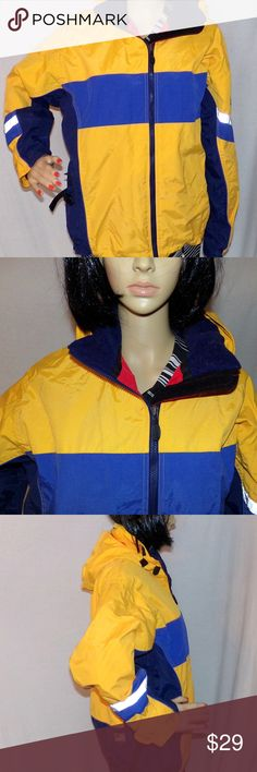 """Women's Ski Jacket Obermeyer with hood Size 8 Women's Ski Jacket Obermeyer 90's Vintage Size 8 with reflectors Low & Fast Shipping Well made with all 2 zippered pockets on the inside flaps and two on the outside with a drawstring at the waist. VG-Excellent Condition and coat is made of Polyester/Nylon blend to keep you warm and dry. MEASUREMENTS: Size is Womens 8 L-27""""/Across Chest-23.5"""" BUNDLE 2 or more of our items for a FAIRY SPECIAL PRICE :) Obermeyer Jackets & Coats Utility Jackets"""
