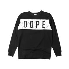 """@DOPE """"Concentric Crewneck"""" 