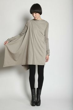 REALLY NEED THIS:  D RK SH D W by Rick Owens  Drape Side Tunic 360.00 USD __ 100% cotton