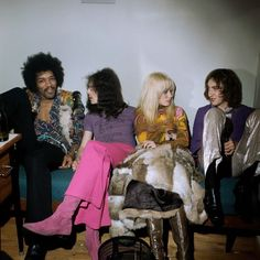 vintage everyday: The Jimi Hendrix Experience in Copenhagen, Denmark, 1969