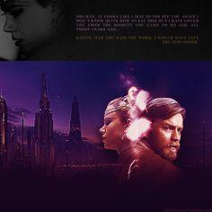 "AU!MEME   STAR WARS - Duchess Satine Kryze (portrayed by Nicole Kidman) and the forbidden love with Obi-Wan Kenobi ""  Satine Kryze: Obi-Wan… it looks like I may never see you again. I don't know quite... Duchess Satine, Satine Kryze, Never See You Again, Forbidden Love, Obi Wan, Nicole Kidman, I Don T Know, Far Away, Star Trek"