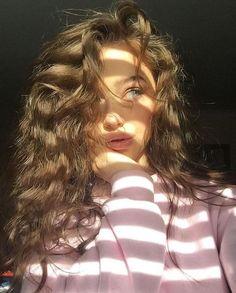 Models teen reserved brunette