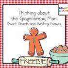 Gingerbread FREEBIE, flow chart and writing frame
