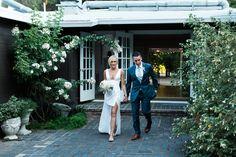 Intimate Marin Art And Garden Center Wedding