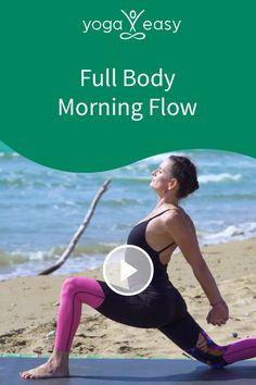 Eine rundum ausgewogene Praxis, die dich gut gelaunt und gestärkt in den Tag bringt. Neben vielen Mobilisationen und einer tiefen Atmung wird deine Wirbelsäule in den für sie möglichen Richtungen durchbewegt. Kleine aber feine Ausrichtungsdetails bringen dich in die Aufmerksamkeit und führen dich so in einen wertfreien Zustand von Ruhe und Ausgeglichenheit. Yoga Video, Positive Energie, Full Body, Fitness, Flow, Sports, Healthy, Angel, Fatty Acid Metabolism