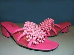 Vintage 1960s Sandals by Kamehameha of Hawaii