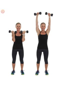 7 Awesome Strength Moves For Sculpted Arms: Arnold Press