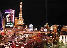 Las Vegas, USA: Las Vegas Strip and Paris Hotel