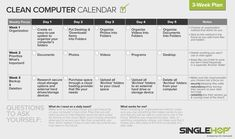 "Is your computer desktop a MESS?! Our friends at SingleHop have shared an awesome ""Clean Your Computer Calendar"" that will help you back up important files!"