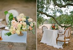 Rustic shoot with Found Vintage Rental's Louisa Chairs by Lane Dittoe and Twine Events