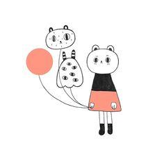 The red balloon | kids art