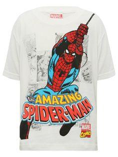 M&Co. Boys Amazing spiderman t-shirt