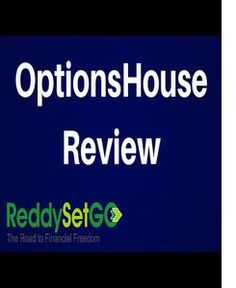OptionsHouse gives online stock and options traders in the market with low rates.
