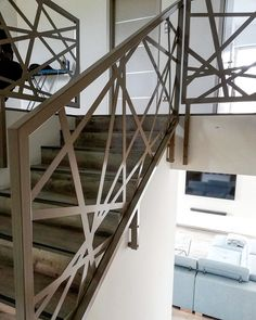 Laser cut panels Laser Cut Panels, Stairs, Elegant, Metal, Modern, Design, Home Decor, Luxury, Classy