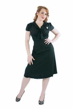 The Queen of Heartz divine dress in black #queenofheartz #dress $134