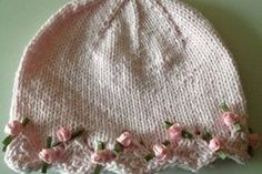 Child Knitting Patterns One Day Child Hat: free knitting pattern-If solely I knew the right way to knit-here is one for you Lynda : ) Baby Knitting Patterns Supply : One Day Baby Hat: free knitting Baby Hat Knitting Patterns Free, Baby Hat Patterns, Baby Hats Knitting, Crochet Baby Hats, Knitting For Kids, Knit Or Crochet, Free Knitting, Knitting Projects, Crochet Projects