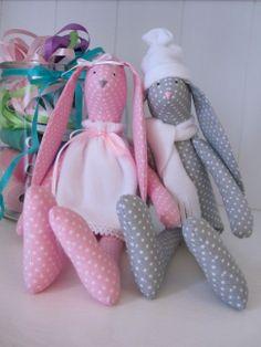 Tilda rabbits, Tilda bunnies 'created by BB' zodrobinytkaniny.blogspot.com