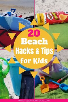 Genius Beach Hacks for kids to help families survive a day at the beach. Clever beach tips and tricks to help you on family beach vacations or just a day out at the beach with kids. You won't believe you didn't think of these beach hacks before! #beach #beachtips #beachhacks #familybeachday #kidsatthebeach #familyvacation #beachday Family Vacation Destinations, Florida Vacation, Beach Vacations, Vacation Ideas, Beach Activities, Travel Activities, Travel With Kids, Family Travel, Games To Play With Kids