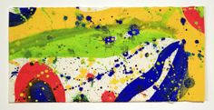 Sam Francis - Untitled from the Pasadena Box | From a unique collection of drawings and watercolor paintings at http://www.1stdibs.com/art/drawings-watercolor-paintings/