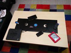 Selfmade Media Table (Ikea Hack)