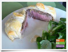 Pan per focaccia: Medaglioni di filetto alla Wellington