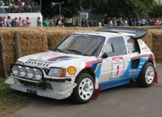 T16 Classic Trucks, Classic Cars, 205 Turbo 16, Rally Raid, Vintage Race Car, Car And Driver, Peugeot 205, Courses, Cars And Motorcycles