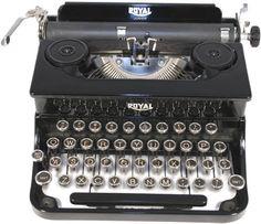 Royal Junior Antique Typewriter  1937