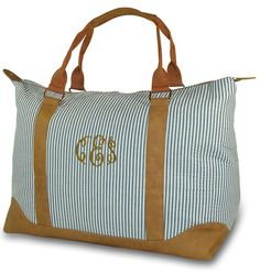 Monogrammed Weekend Travel Bags | Personalized
