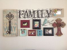 Living room collage. All from Hobby Lobby!