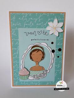 Mama Elephant, Studio Lighting, Lawn Fawn, Hero Arts, Little Miss, Die Cutting, Birthday Cards, Card Making, Scrapbooking