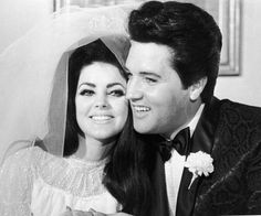 All You Wanted to Know about Elvis Presley and Priscilla Beaulieu's Marriage: American rock musician Elvis Presley and his wife, Priscilla Beaulieu Presley, hugging each other on their wedding day, May 1, 1967, in Las Vegas, Nevada.