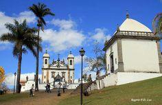 Congonhas, MG - Brasil  Uma das capelas da Via-Sacra