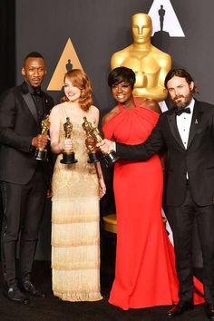 Die besten Bilder der großen Oscar-Nacht 2017, die strahlendsten Gewinner und die schönsten Highlights sehen Sie in unserer Galerie.