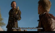 """Arrested Westeros- """"And that's why you always leave a note."""" Pier Pressure - 1x10"""