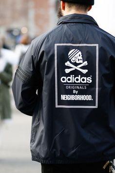 Windbreaker #adidasOriginals #neighborhood #streetstyle #fashion #menswear