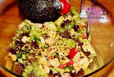 Avocado-Hähnchen Salat - Low Carb - Rezept von Kerstins Kuechentraum Mozzarella, Low Carb Avocado, Guacamole, Potato Salad, Mexican, Potatoes, Ethnic Recipes, Food, Youtube
