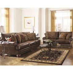 Chaling DuraBlend®   Antique   Sofa U0026 Loveseat · House FurnitureAshleys ...