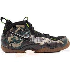 20+ Nike Air Foamposite Pro Army Camo