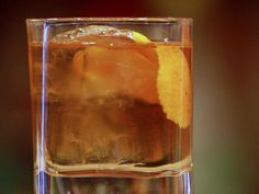 Brown Butter Old Fashioned - Try this #MadMen inspired cocktail from @Cooking Channel!